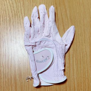 キャロウェイ ♡ ゴルフグローブ レディース チャーム付 左手 19cm