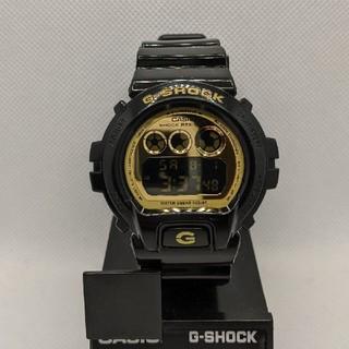 ジーショック(G-SHOCK)のG-SHOCK DW-6900CB-1AJF ブラック&ゴールド(腕時計(デジタル))