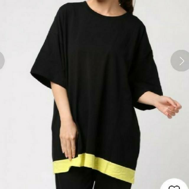 RODEO CROWNS WIDE BOWL(ロデオクラウンズワイドボウル)の新品  バックロゴTシャツ レディースのトップス(Tシャツ(半袖/袖なし))の商品写真