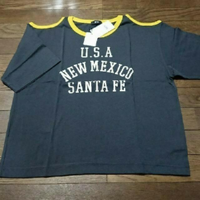 RODEO CROWNS WIDE BOWL(ロデオクラウンズワイドボウル)の新品  肩空きTシャツ レディースのトップス(Tシャツ(半袖/袖なし))の商品写真