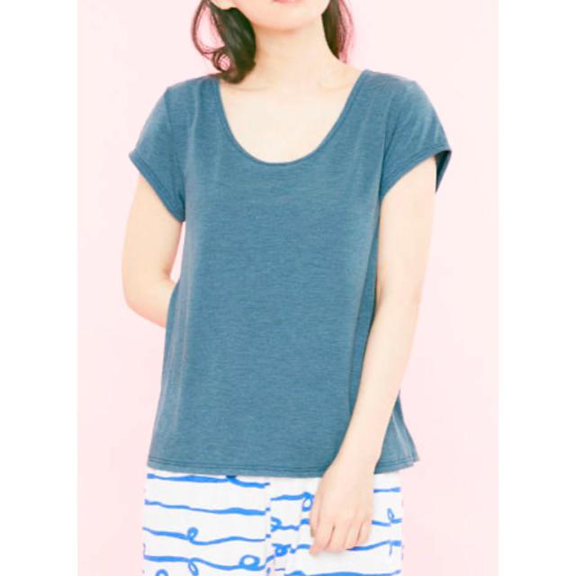 une nana cool(ウンナナクール)のウンナナクール  ワコール 半袖 Tシャツ パジャマ ルームウェア 新品  夏 レディースのルームウェア/パジャマ(パジャマ)の商品写真
