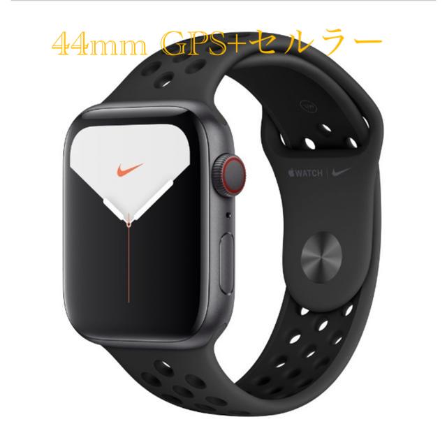 Apple(アップル)のApple Watch Series 5 GPS+CEL 44mm 新品・未開封 スマホ/家電/カメラのスマートフォン/携帯電話(その他)の商品写真