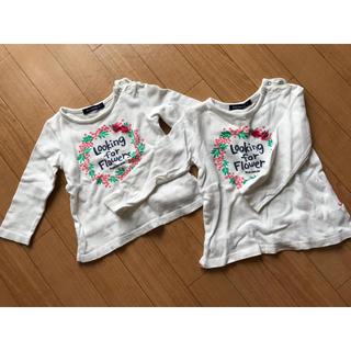 ムージョンジョン(mou jon jon)の双子ちゃんに!長袖トップス(Tシャツ/カットソー)