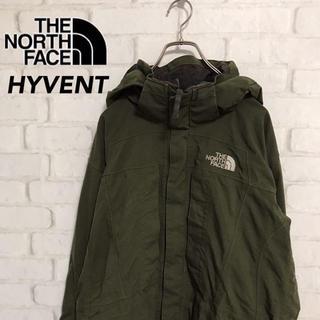 THE NORTH FACE - ノースフェイス マウンテンパーカー HYVENT モスグリーン メンズL
