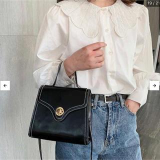 【本日限定セール】ZARA系韓国ファッション♡ショルダーバッグ  黒 新品(ショルダーバッグ)