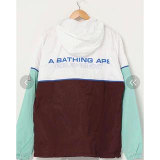 アベイシングエイプ(A BATHING APE)の【新品】 BAPE  COLOR BLOCK TRACK TOP A (ナイロンジャケット)