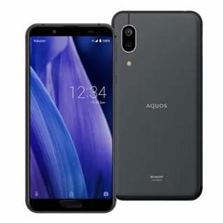 アクオス(AQUOS)の8/3値下げ!AQUOS sense3 lite ブラック64GB SIMフリー(スマートフォン本体)
