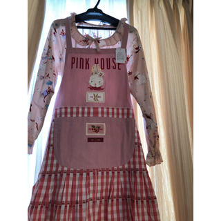 PINK HOUSE - ピンクハウス チェリーレーンエプロン