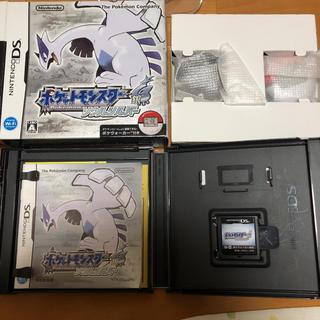 ニンテンドーDS(ニンテンドーDS)のポケットモンスターソウルシルバー DS 3DS DSソフト(携帯用ゲームソフト)