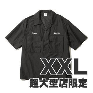 ジーユー(GU)のGU 1MW by SOPH. +X オープンカラーシャツ XXL(シャツ)