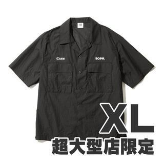 ジーユー(GU)のGU 1MW by SOPH. +X オープンカラーシャツ XL(シャツ)