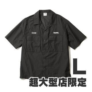 ジーユー(GU)のGU 1MW by SOPH. +X オープンカラーシャツ L(シャツ)