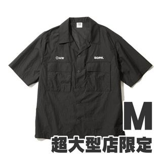 ジーユー(GU)のGU 1MW by SOPH. +X オープンカラーシャツ M(シャツ)