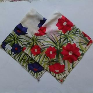 シビラ(Sybilla)のSybilla 大判ハンカチ  花柄スカーフ 2枚 シビラ(バンダナ/スカーフ)