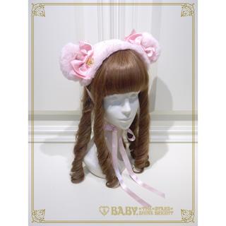 BABY,THE STARS SHINE BRIGHT - Kumya-chan Fur Headdress くみゃちゃんファーヘッドドレス