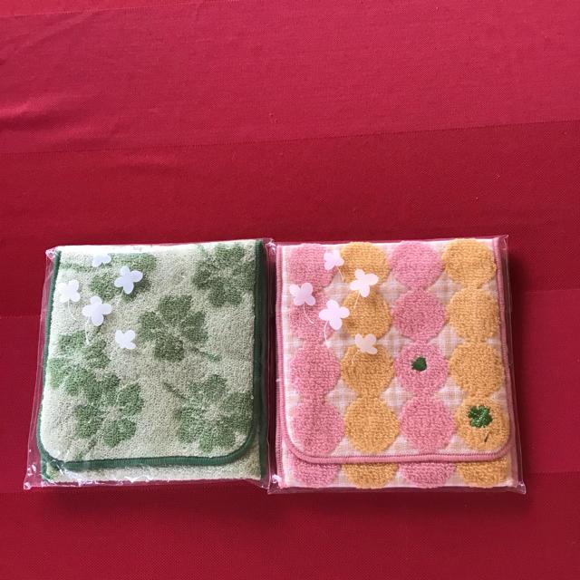 シャルレ(シャルレ)のシャルレポケット付きハンカチ 2個セット レディースのファッション小物(ハンカチ)の商品写真