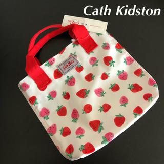 Cath Kidston - 新品❣️キャスキッドソン キッズミニショッパー エコバッグ イチゴ