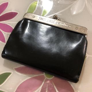 ジャンポールゴルチエ(Jean-Paul GAULTIER)の希少!ジャンポールゴルチエ 二つ折り財布 がま口タイプ(折り財布)