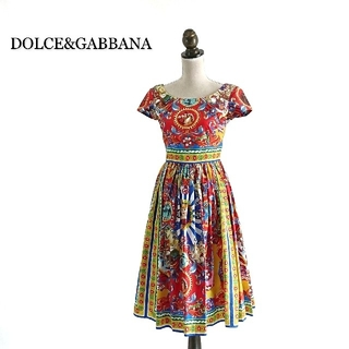 DOLCE&GABBANA - DOLCE&GABBANA ドルチェ&ガッバーナ ワンピース