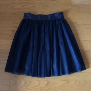 セシルマクビー(CECIL McBEE)のチュールスカート(ひざ丈スカート)