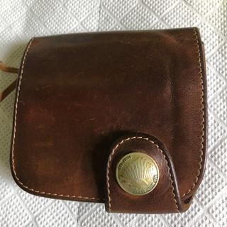 レッドムーン(REDMOON)のレッドムーン 初期レザーショートウォレット メーカーレストア済 財布(折り財布)
