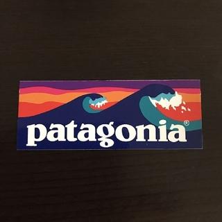 パタゴニア(patagonia)の(縦3.4cm横8.9cm)patagonia公式ステッカー(その他)