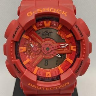 ジーショック(G-SHOCK)のG-SHOCK GA-110AC-4AJF レッド(腕時計(デジタル))
