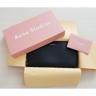 アクネ(ACNE)のアクネストゥディオズ Acne Studios 財布 ウォレット ブラック(財布)
