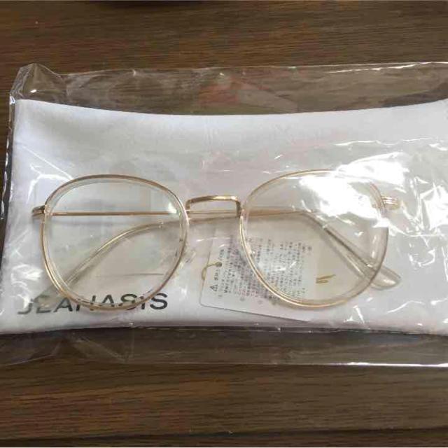 JEANASIS(ジーナシス)のJEANASIS コンビボストンメガネ レディースのファッション小物(サングラス/メガネ)の商品写真