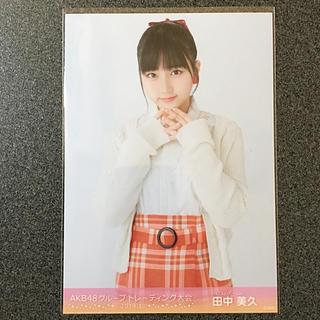 エイチケーティーフォーティーエイト(HKT48)のHKT48 田中美久 AKB48 トレーディング大会 2019.1 生写真(アイドルグッズ)