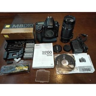 Nikon D700 MB-D10  望遠ズームセット!(デジタル一眼)