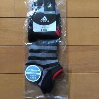 アディダス(adidas)のadidas アンクルソックス 23〜25cm(靴下/タイツ)