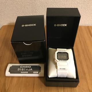 ジーショック(G-SHOCK)の【美品】CASIO G-SHOCK 3151 JA ホワイト 箱付き(腕時計(デジタル))