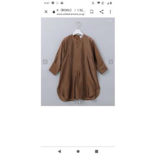 ビューティアンドユースユナイテッドアローズ(BEAUTY&YOUTH UNITED ARROWS)の<6(ROKU)>CUPRA DRESS SHIRT/シャツ(シャツ/ブラウス(長袖/七分))