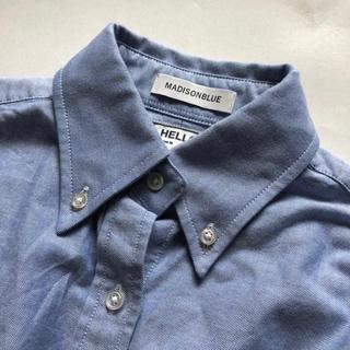 マディソンブルー(MADISONBLUE)のマディソンブルー オックスフォードシャツ ブルー ボタンダウン(シャツ/ブラウス(長袖/七分))