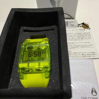 ニクソン(NIXON)の美品‼️ニクソン コンプ ネオンイエロー(腕時計(デジタル))