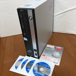 フジツウ(富士通)の富士通 D551/DX Cel G530 OfficePersonal2010(デスクトップ型PC)