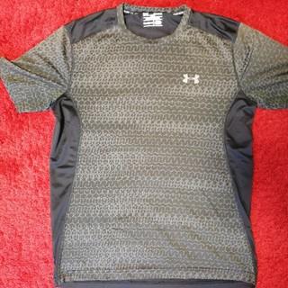 アンダーアーマー(UNDER ARMOUR)の【UNDER ARMOUR】Tシャツ メンズXLサイズ ブラックメッシュ素材(ウェア)