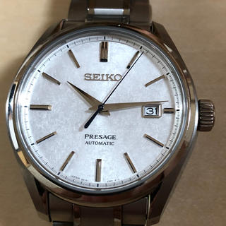 セイコー(SEIKO)のli様専用 美品 セイコープレサージュ SARX055 和紙柄文字盤(腕時計(アナログ))
