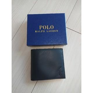 ポロラルフローレン(POLO RALPH LAUREN)のポロラルフローレン 二つ折り財布(折り財布)