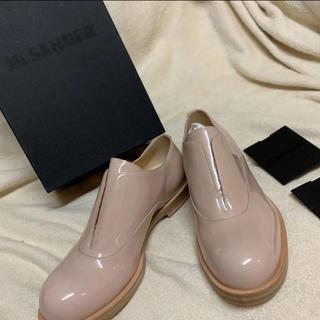 ジルサンダー(Jil Sander)のジルサンダー  正規品 新品 エナメル シューズ(ローファー/革靴)