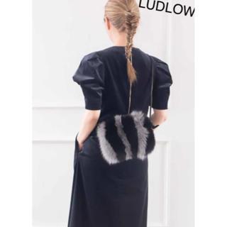 ラドロー(LUDLOW)の未使用タグ付き★ラドロー ファーショルダーバッグ(ショルダーバッグ)