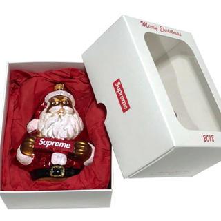 シュプリーム(Supreme)のSUPREME シュプリーム 18AW 新品 赤 Santa Ornament(置物)