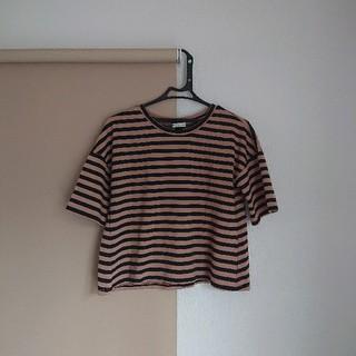 アースミュージックアンドエコロジー(earth music & ecology)のボーダー Tシャツ 半袖 レディース (Tシャツ(半袖/袖なし))