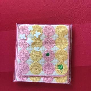 シャルレ - シャルレ ポケット付きハンカチ ピンク