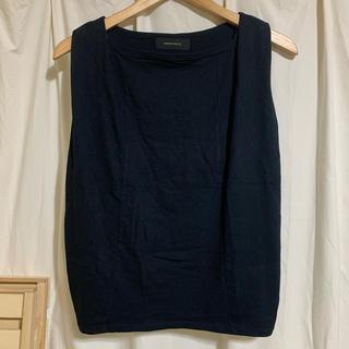 アメリカンラグシー(AMERICAN RAG CIE)のノースリーブ 黒(Tシャツ(半袖/袖なし))