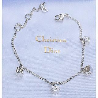 クリスチャンディオール(Christian Dior)の極美品❤︎Christian Dior  イニシャル キューブ ブレスレット(ブレスレット/バングル)