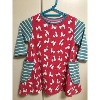 ボーデン(Boden)のMini Boden ハッチポッチTシャツ 3-4Y 104cm(Tシャツ/カットソー)