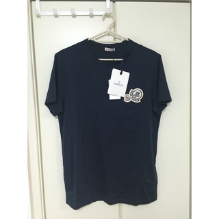 モンクレール(MONCLER)の新品 Tシャツ moncler モンクレール ダブルワッペン(Tシャツ/カットソー(半袖/袖なし))