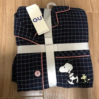 ジーユー(GU)のパジャマ(長袖)(チェック)(パジャマ)